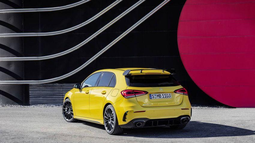 Mercedes-AMG A 35 4Matic didedahkan – 2.0L turbo, 306 hp dan 400 Nm, AWD; Pencabar terus VW Golf R! Image #862335