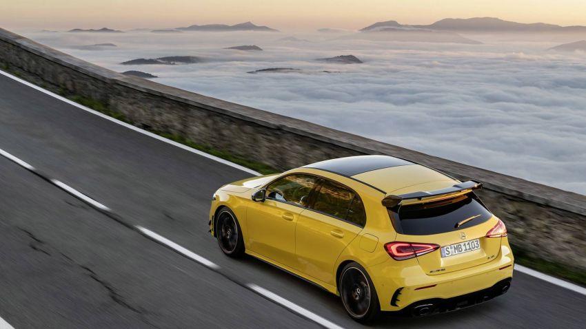 Mercedes-AMG A 35 4Matic didedahkan – 2.0L turbo, 306 hp dan 400 Nm, AWD; Pencabar terus VW Golf R! Image #862332