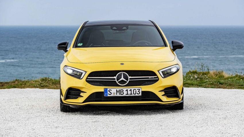 Mercedes-AMG A 35 4Matic didedahkan – 2.0L turbo, 306 hp dan 400 Nm, AWD; Pencabar terus VW Golf R! Image #862353