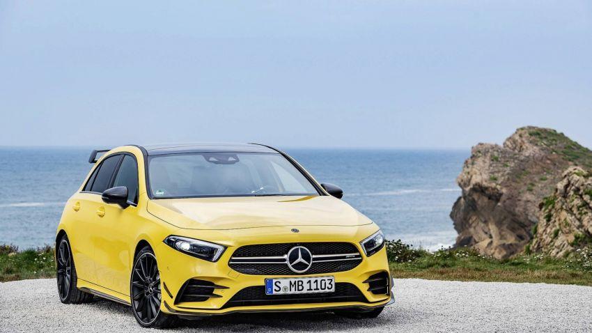 Mercedes-AMG A 35 4Matic didedahkan – 2.0L turbo, 306 hp dan 400 Nm, AWD; Pencabar terus VW Golf R! Image #862351