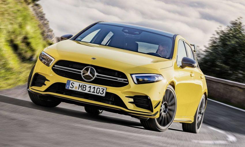 Mercedes-AMG A 35 4Matic didedahkan – 2.0L turbo, 306 hp dan 400 Nm, AWD; Pencabar terus VW Golf R! Image #862350