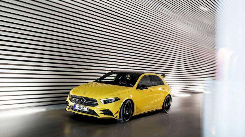 Mercedes-AMG A 35 4Matic didedahkan – 2.0L turbo, 306 hp dan 400 Nm, AWD; Pencabar terus VW Golf R! Image #862349