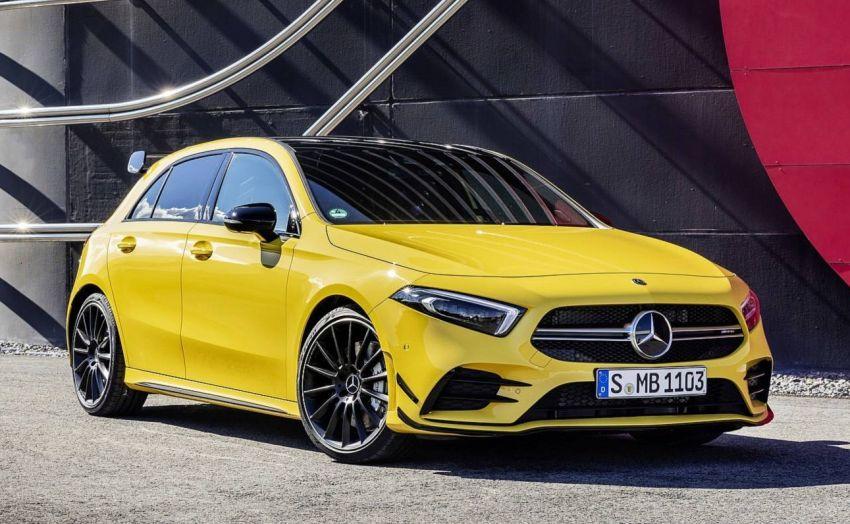 Mercedes-AMG A 35 4Matic didedahkan – 2.0L turbo, 306 hp dan 400 Nm, AWD; Pencabar terus VW Golf R! Image #862355