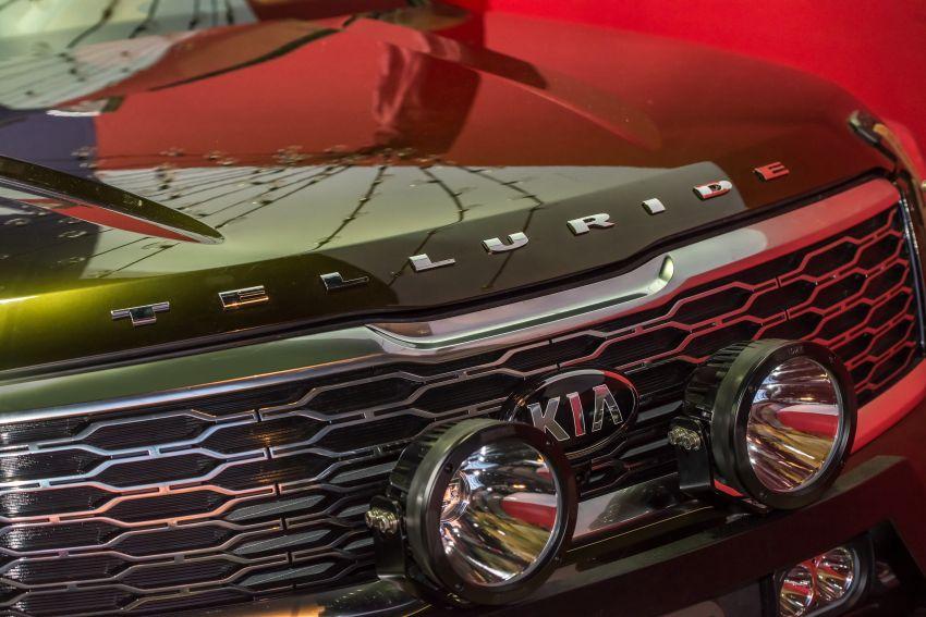Bespoke Kia Telluride debuts – eight-seat SUV, new V6 Image #860065