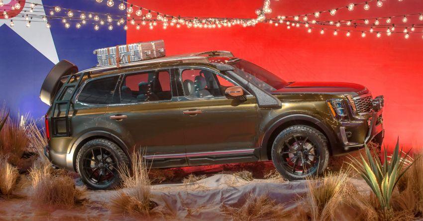 Bespoke Kia Telluride debuts – eight-seat SUV, new V6 Image #860061