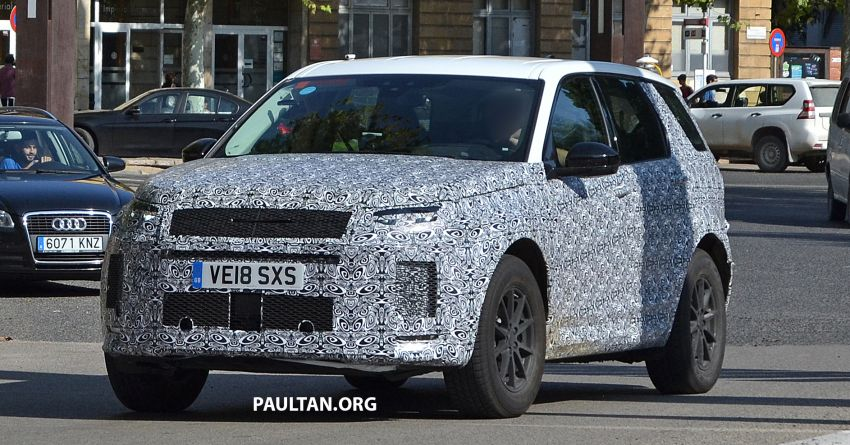 SPIED: Land Rover Discovery Sport facelift testing Image #864171