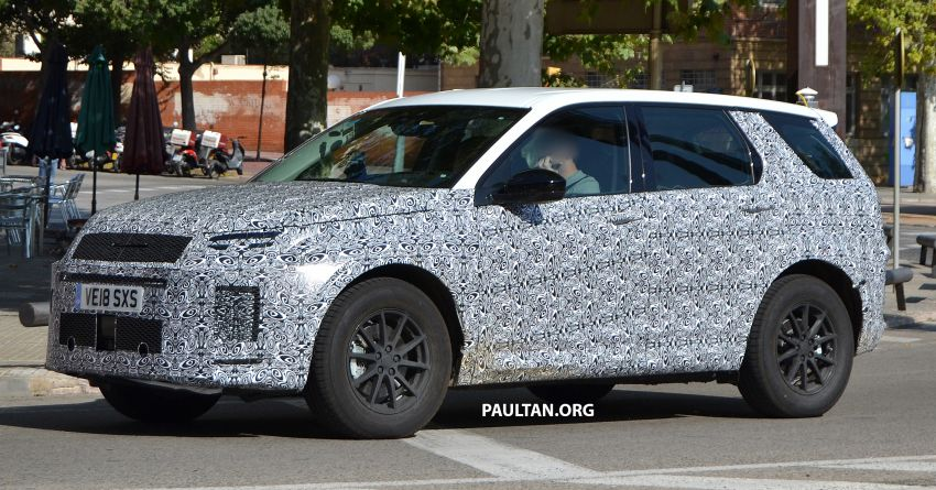 SPIED: Land Rover Discovery Sport facelift testing Image #864174