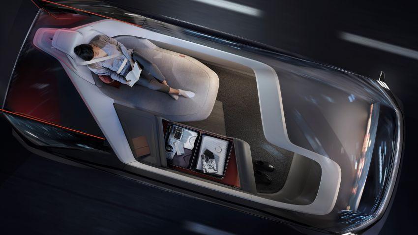 Volvo 360c autonomous concept – a rival to air travel Image #858147