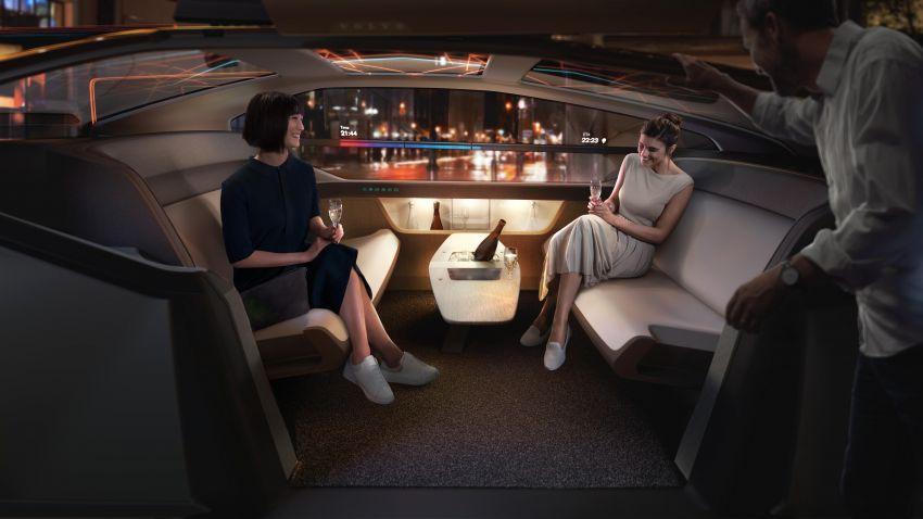 Volvo 360c autonomous concept – a rival to air travel Image #858153