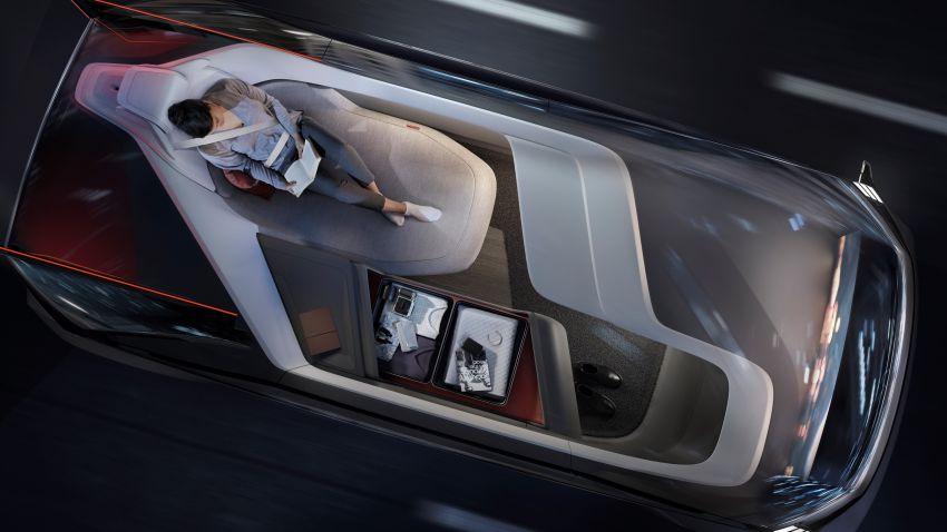 Volvo 360c autonomous concept – a rival to air travel Image #858154