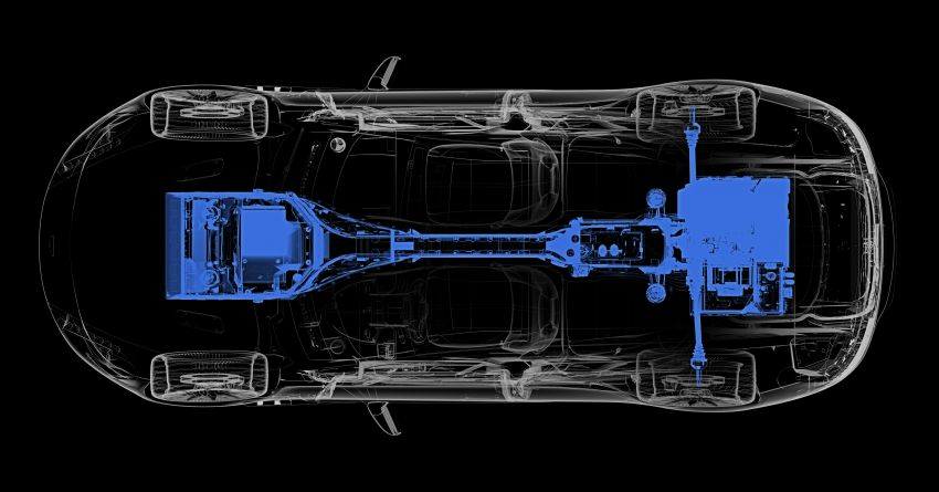 Aston Martin Rapide E teased, early details revealed Image #860076