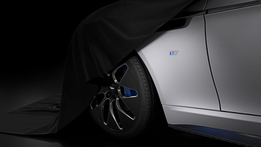 Aston Martin Rapide E teased, early details revealed Image #860077