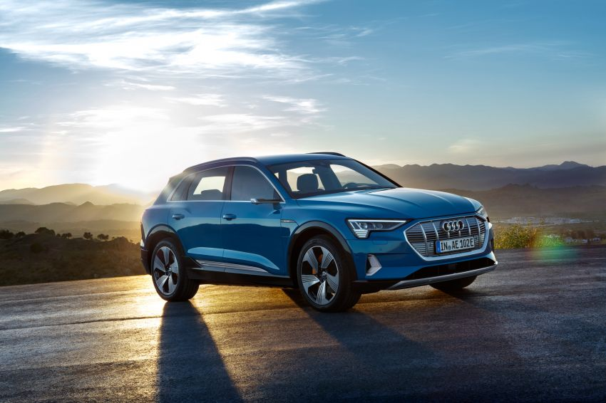 Audi e-tron buat penampilan global – SUV elektrik produksi pertama daripada Audi, kuasa 355 hp/561 Nm Image #863195