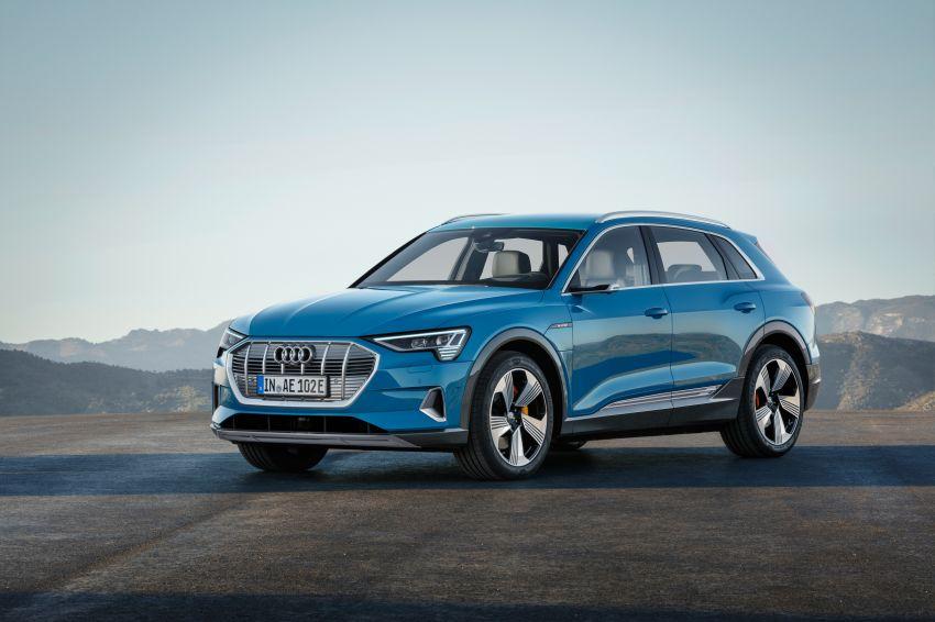 Audi e-tron buat penampilan global – SUV elektrik produksi pertama daripada Audi, kuasa 355 hp/561 Nm Image #863204