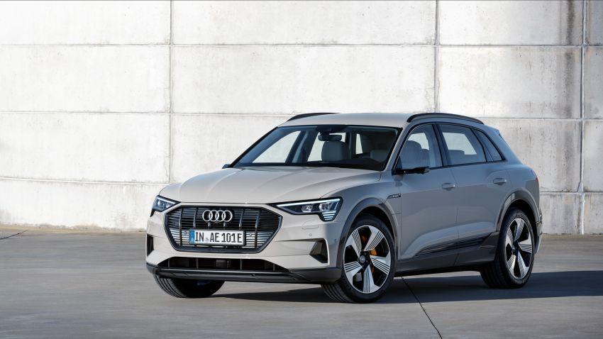 Audi e-tron buat penampilan global – SUV elektrik produksi pertama daripada Audi, kuasa 355 hp/561 Nm Image #863211