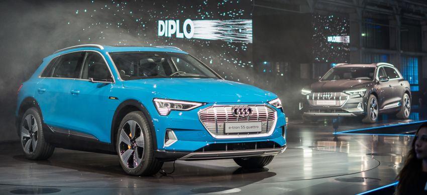 Audi e-tron buat penampilan global – SUV elektrik produksi pertama daripada Audi, kuasa 355 hp/561 Nm Image #863196