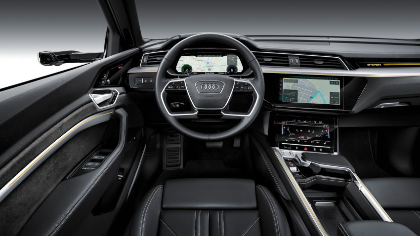 Audi e-tron buat penampilan global – SUV elektrik produksi pertama daripada Audi, kuasa 355 hp/561 Nm Image #863222