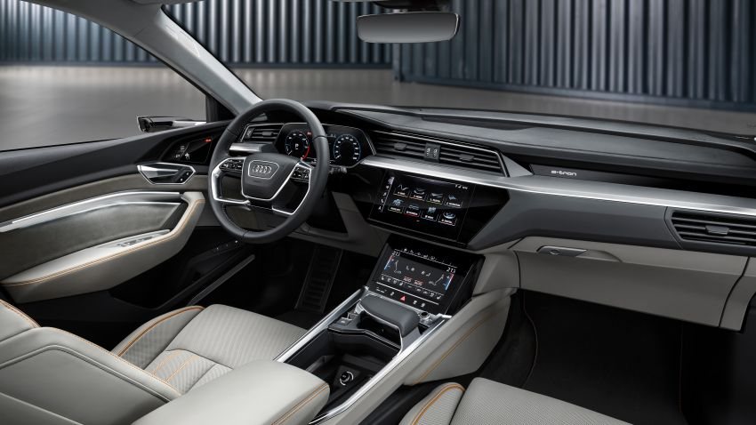 Audi e-tron buat penampilan global – SUV elektrik produksi pertama daripada Audi, kuasa 355 hp/561 Nm Image #863224