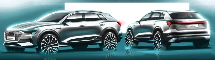 Audi e-tron buat penampilan global – SUV elektrik produksi pertama daripada Audi, kuasa 355 hp/561 Nm Image #863227