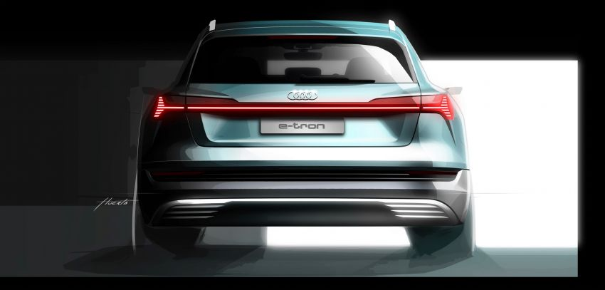 Audi e-tron buat penampilan global – SUV elektrik produksi pertama daripada Audi, kuasa 355 hp/561 Nm Image #863230