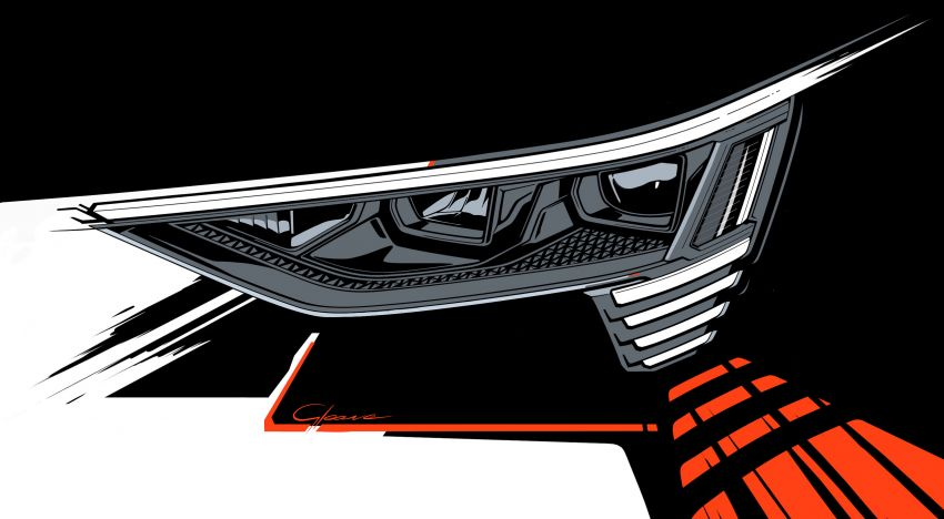 Audi e-tron buat penampilan global – SUV elektrik produksi pertama daripada Audi, kuasa 355 hp/561 Nm Image #863233