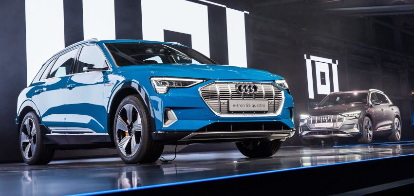 Audi e-tron buat penampilan global – SUV elektrik produksi pertama daripada Audi, kuasa 355 hp/561 Nm Image #863198