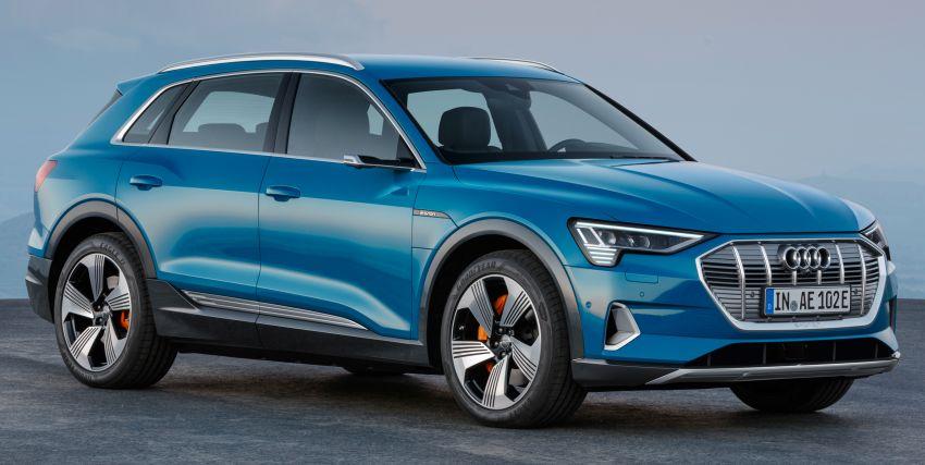 Audi e-tron buat penampilan global – SUV elektrik produksi pertama daripada Audi, kuasa 355 hp/561 Nm Image #863200