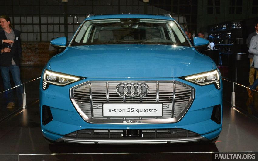 Audi e-tron celebrates global debut in San Francisco – brand's first series production, all-electric SUV Image #862079