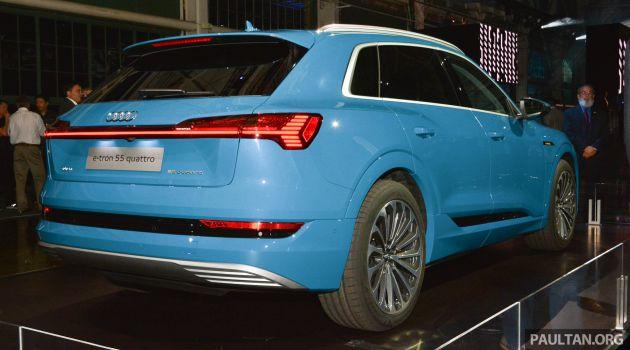 Audi E Tron Celebrates Global Debut In San Francisco Brands First