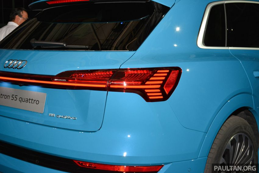 Audi e-tron celebrates global debut in San Francisco – brand's first series production, all-electric SUV Image #862091