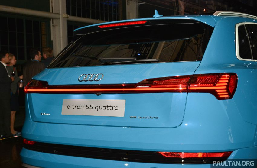Audi e-tron celebrates global debut in San Francisco – brand's first series production, all-electric SUV Image #862093