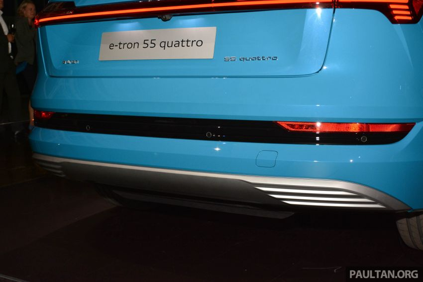 Audi e-tron celebrates global debut in San Francisco – brand's first series production, all-electric SUV Image #862094