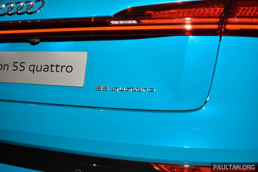 Audi e-tron celebrates global debut in San Francisco – brand's first series production, all-electric SUV Image #862095