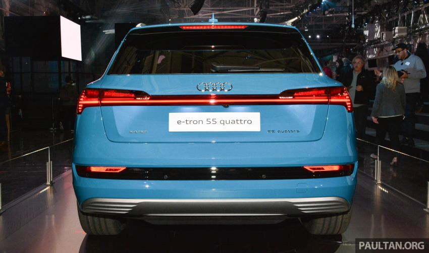 Audi e-tron celebrates global debut in San Francisco – brand's first series production, all-electric SUV Image #862097