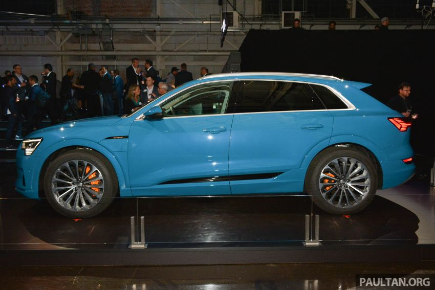 Audi e-tron celebrates global debut in San Francisco – brand's first series production, all-electric SUV Image #862098