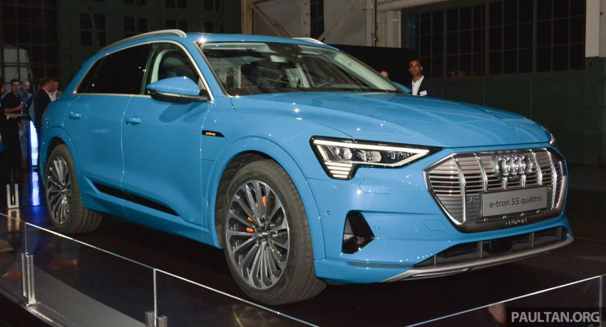 Audi e-tron celebrates global debut in San Francisco – brand's first series production, all-electric SUV Image #862081
