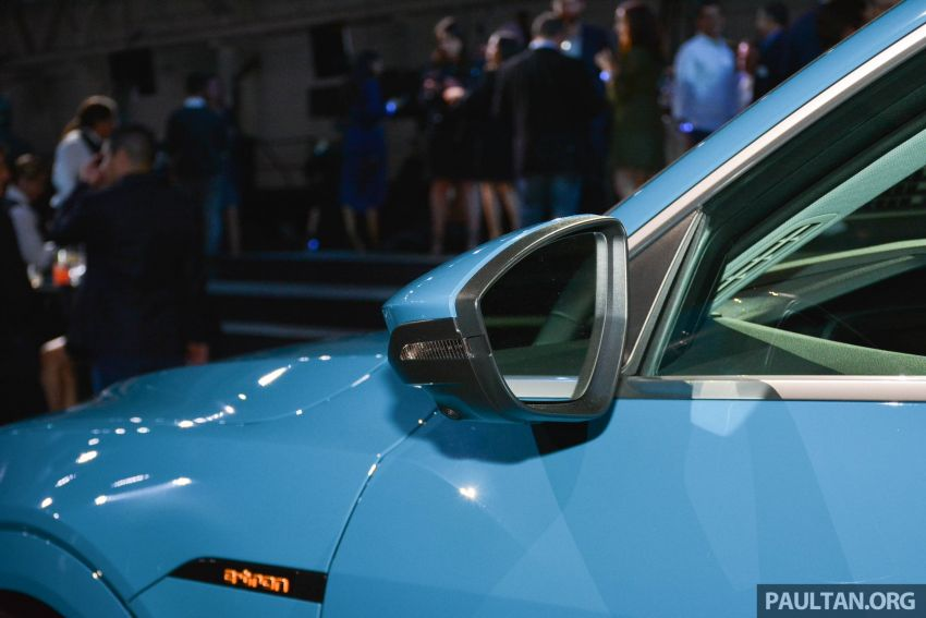 Audi e-tron celebrates global debut in San Francisco – brand's first series production, all-electric SUV Image #862099