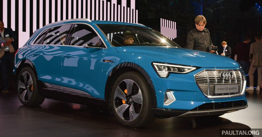 Audi e-tron celebrates global debut in San Francisco – brand's first series production, all-electric SUV Image #862101