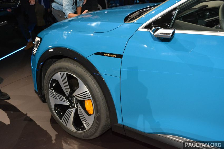 Audi e-tron celebrates global debut in San Francisco – brand's first series production, all-electric SUV Image #862103
