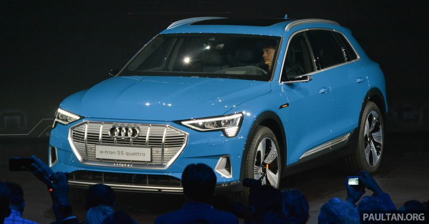 Audi e-tron celebrates global debut in San Francisco – brand's first series production, all-electric SUV Image #862104