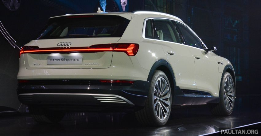 Audi e-tron celebrates global debut in San Francisco – brand's first series production, all-electric SUV Image #862105