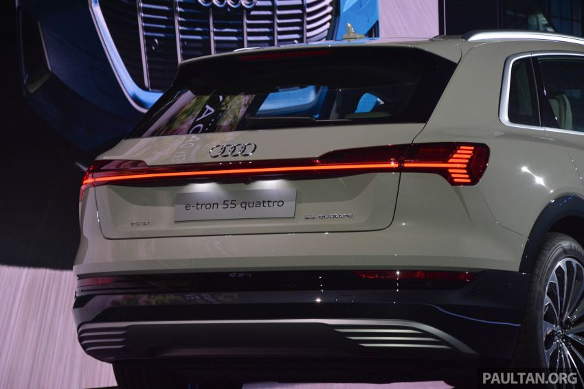 Audi e-tron celebrates global debut in San Francisco – brand's first series production, all-electric SUV Image #862107