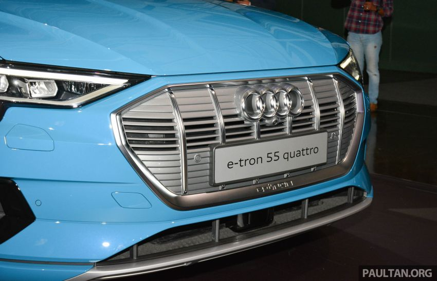 Audi e-tron celebrates global debut in San Francisco – brand's first series production, all-electric SUV Image #862082