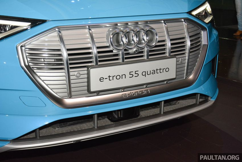 Audi e-tron celebrates global debut in San Francisco – brand's first series production, all-electric SUV Image #862086
