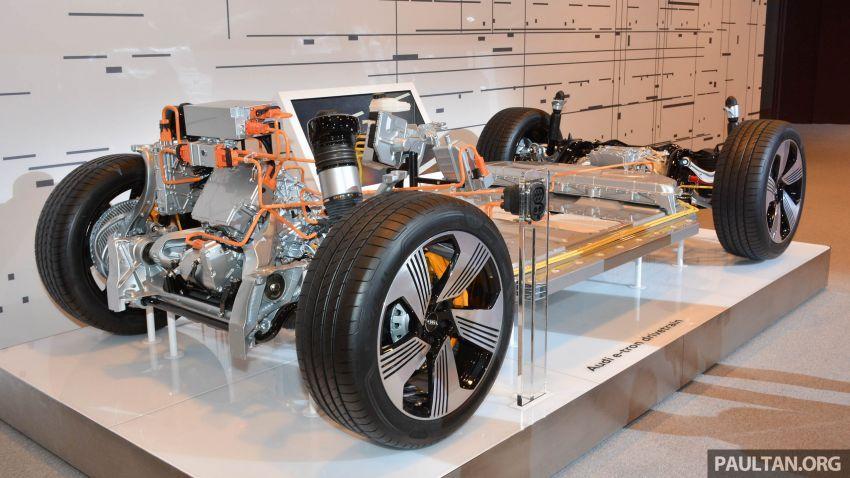 Audi e-tron buat penampilan global – SUV elektrik produksi pertama daripada Audi, kuasa 355 hp/561 Nm Image #863238