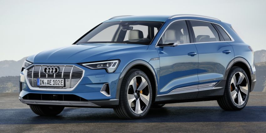 Audi e-tron celebrates global debut in San Francisco – brand's first series production, all-electric SUV Image #861755