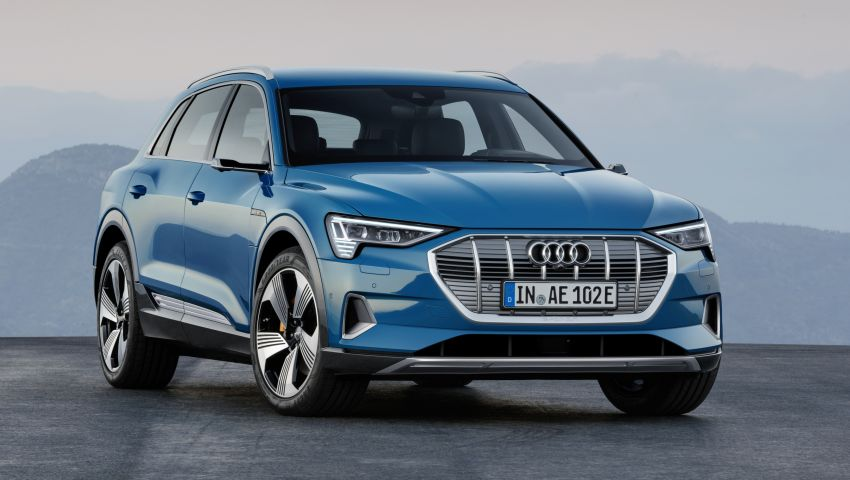 Audi e-tron celebrates global debut in San Francisco – brand's first series production, all-electric SUV Image #861766