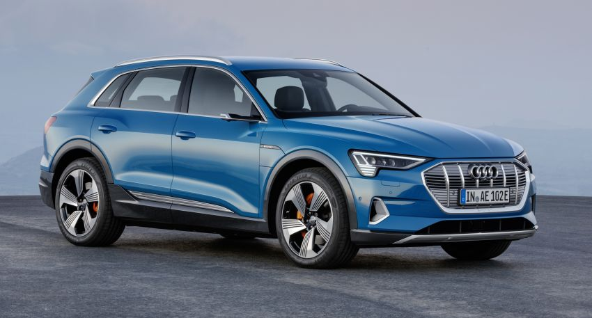 Audi e-tron celebrates global debut in San Francisco – brand's first series production, all-electric SUV Image #861767