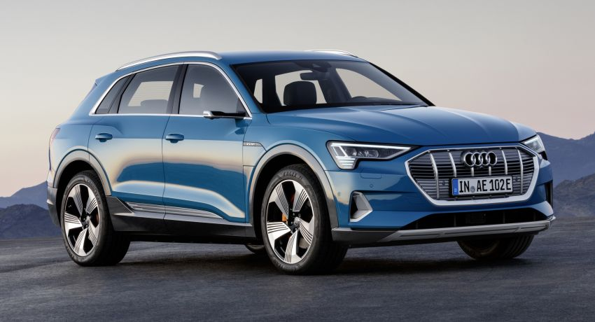 Audi e-tron celebrates global debut in San Francisco – brand's first series production, all-electric SUV Image #861770