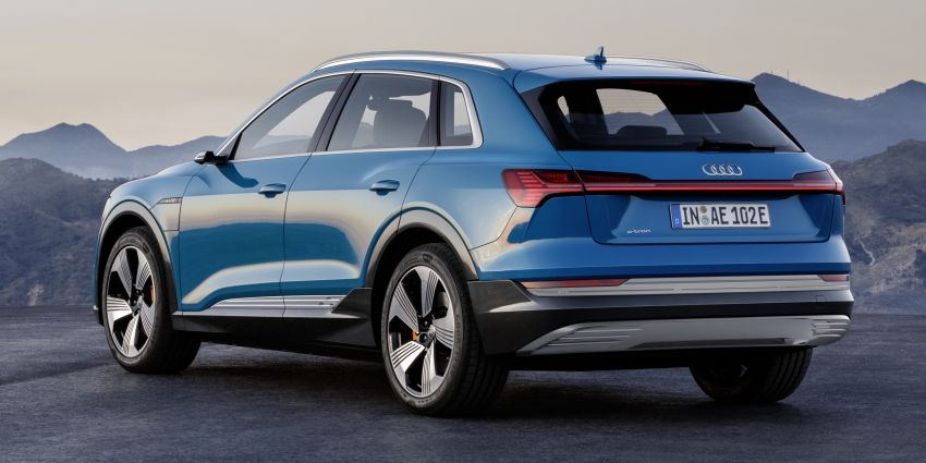Audi e-tron celebrates global debut in San Francisco – brand's first series production, all-electric SUV Image #861771